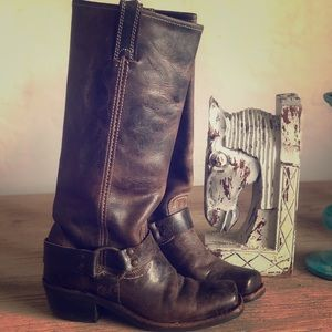Frye Dingo harness boot